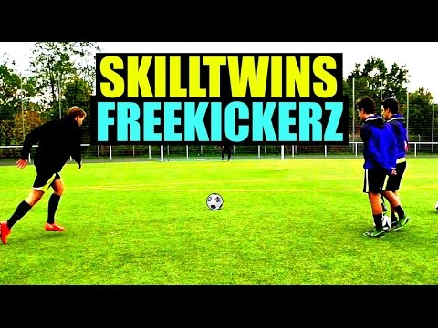 SkillTwins ft. freekickerz - Amazing Freekicks, Tutorials & Reviews!