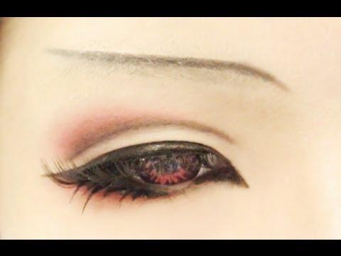 Anime Eyes Makeup Cosplay Tutorial Anime Eye Makeup 9