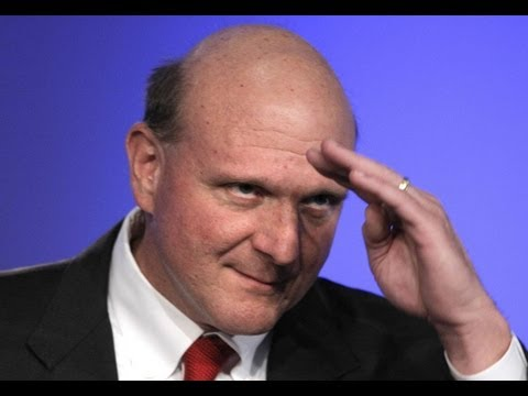 Steve Ballmer steps down at Microsoft - LAUNCH Ticker news flash
