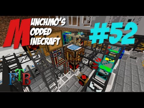 Munchmo's Modded Minecraft E52 - Petroleum