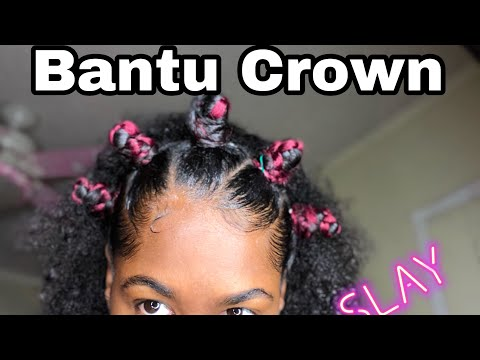 Bantu Knot Crown