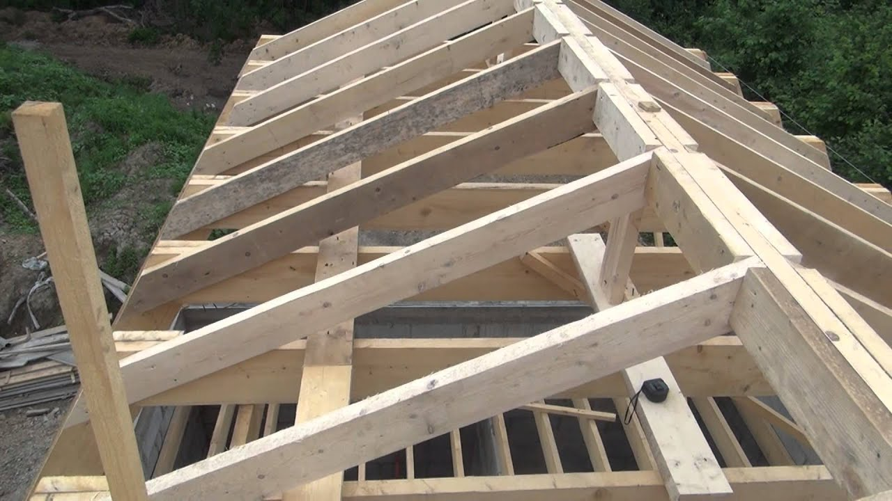 Как сделать стропила на крышу своими руками фото 11