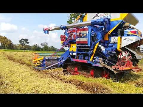 รถเกี่ยว นวดข้าว ไทยเส็งยนต์การเกษตร Harvesters Thailand