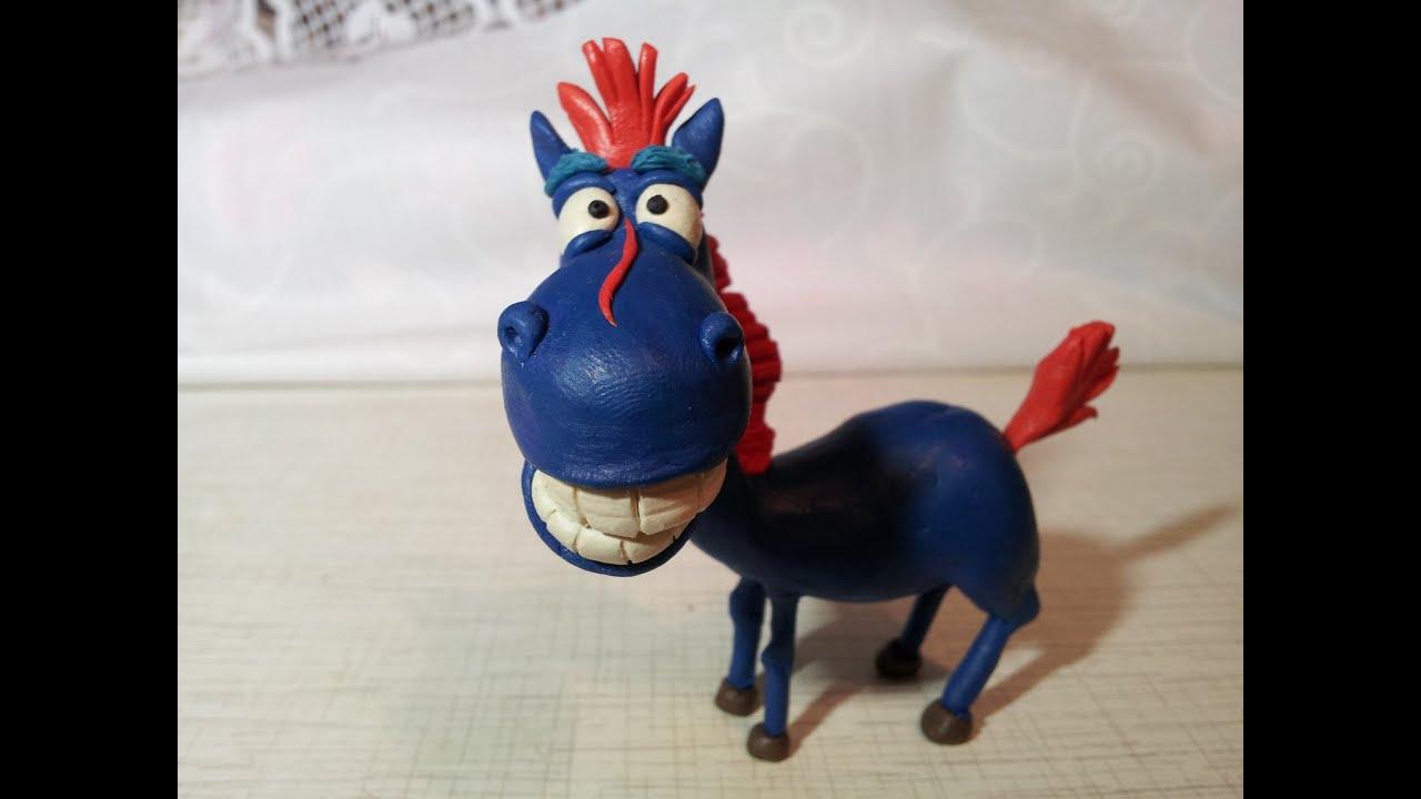 Как сделать лошадь из пластилина своими руками поэтапно 75