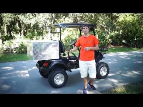 Police Golf Cart- 2 Passenger Lifted Golf Cart From Moto Electric Vehicles
