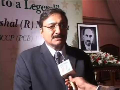 Chairman PCB Zaka Ashraf Tributes  to Late Noor Khan in a Royal Way (Ex-President PCB)