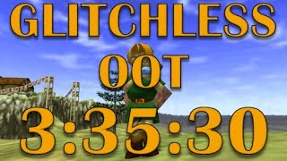 [World Record] Ocarina of Time Glitchless Any% Speedrun in 3:35:30!