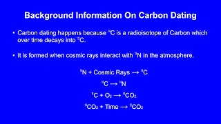 A Major Issue With Carbon Dating