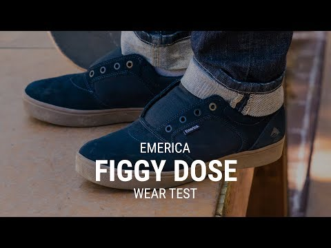 Emerica Figgy Dose Skate Shoe Wear Test Review- Tactics