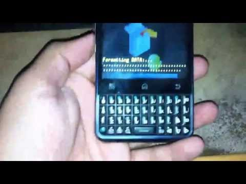 Hard Reset Motorola MB502-HD