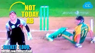 Ab de Villiers Funniest Moment in the Process of another ABD Special Shot !!