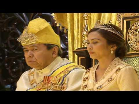 阿米爾沙回宮完成冊封 正式獲王儲資格