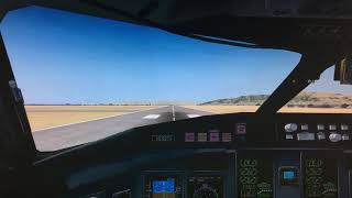CRJ-700 Landing 3 FSX