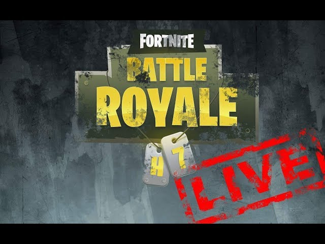 BATTLE ROYALE - FORTNITE - NA ŻYWO