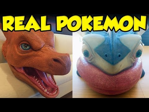 "The Detective Pikachu Movie's ""Real Pokemon"""