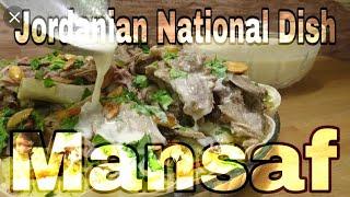 Mansaf ( منسف )Review   Jordanian National Dish