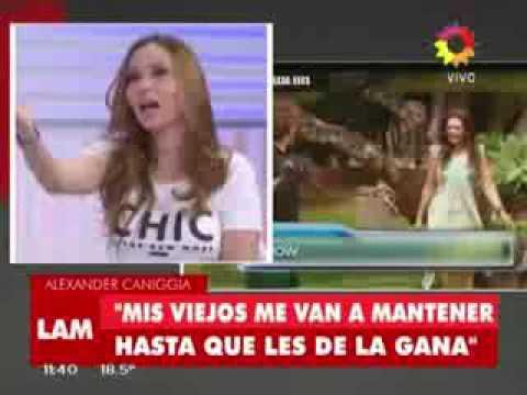 Alexander Caniggia: Me gusta Andrea Rincón pero solo para un polvo