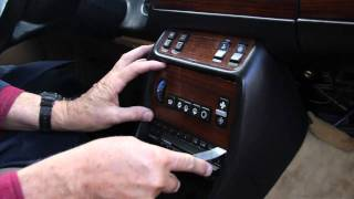 Mercedes Benz 123 Chassis Center Console Wood and Switch Removal by Kent Bergsma