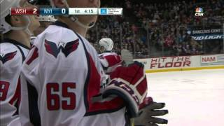 Gotta See It: Equipment manager assists on Ovechkin's goal