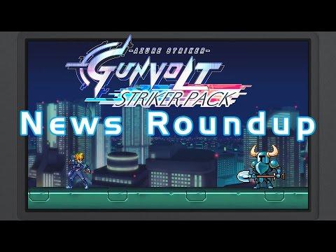Azure Striker Gunvolt News Roundup - Sequel Info, Anime, Striker Pack, & Shovel Knight Cameo
