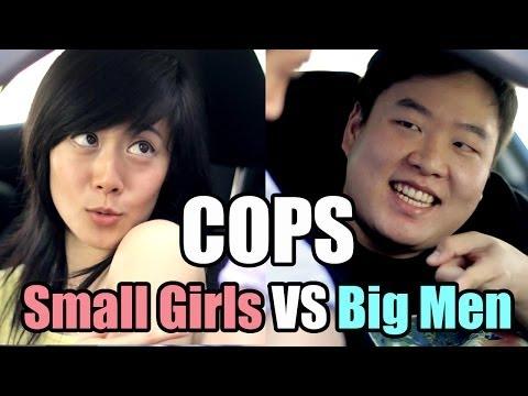 Small Girls Vs Large Men - Cops Ft. David So video