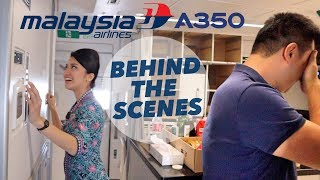 Behind The Scenes - Malaysia Airlines A350-900 Delivery Flight
