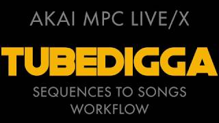 Akai Mpc Live X Sequences To Songs Workflow Part 1