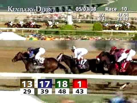 Kentucky Derby 134 2008  Eight Belles Dies