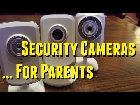 D-Link Security Camera Reviews - For Parents!  (DCS-930L, DCS-931L, DCS-932L)