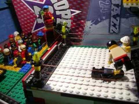wwe lego batista vs undertaker youtube