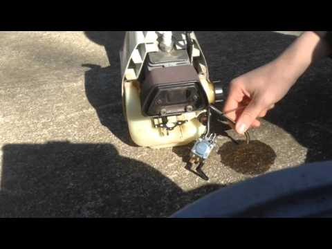 How To Remove And Replace The Carburetor On A Stihl FS36 Weedeater