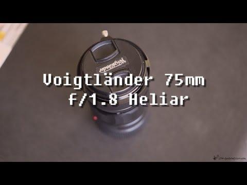 Voigtländer 75mm F/1.8 Heliar