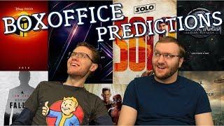 Box Office Predictions: Summer 2018