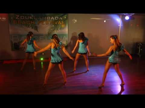 00078 ZLBF2016 Artistic Performance by Ladies ON group ~ video by Zouk Soul
