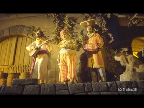 [Stunning Low Light] Full Pirates of the Caribbean Ride-through Disneyland