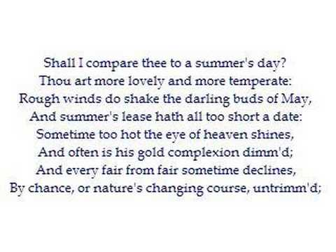 critical essay on sonnet 18