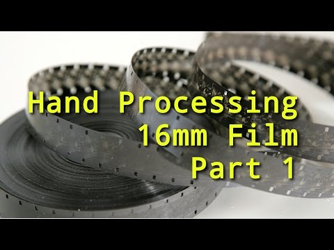 How to Hand Processing / Developing 16mm film Part 1 - 16mmAdventures