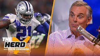 Colin's NFL Roundup: Zeke holdout, Dak contract, Baker vs. Deshaun Watson & Aaron Rodgers | THE HERD