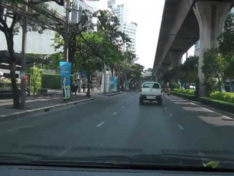 Drive Record on Sukhumvit Road (Thonglor – Onnuch)