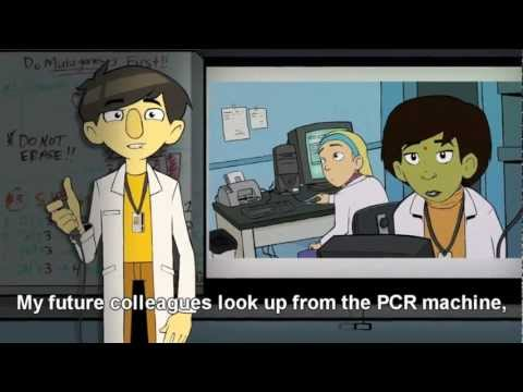 Ph.Diddy is on the scene - Animation of life in the biotech lab