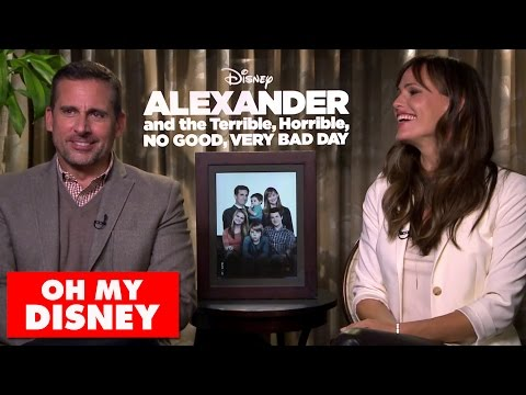 Steve Carell and Jennifer Garner Talk Alexander and the Terrible, Horrible, No Good, Very Bad Day