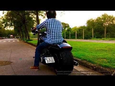Harley-Davidson FXSB Breakout Sound Alexei from Brazil