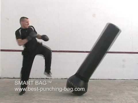 The Smart Bag Freestanding Heavybag Ground And Pound
