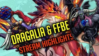 Taking Down Brachium & Dragalia Lost Raid! - [FFBE & Dragalia Lost]