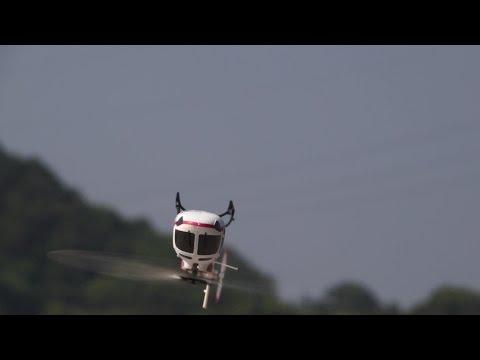 XK AS350 RC Helicopter With 6G Stabilization System