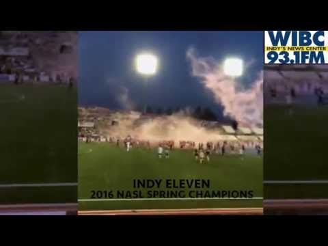 Indy Eleven Win NASL 2016 Spring Championship; Owner Ersal Ozdemir Storms The Pitch