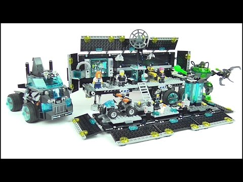 LEGO ULTRA AGENTS Mission HQ Set Review | Votesaxon07