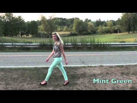 How to Style Colored Jeans!