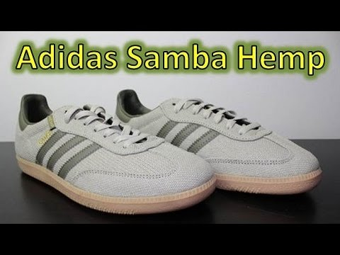 Adidas Samba on Feet Adidas Samba Hemp Review