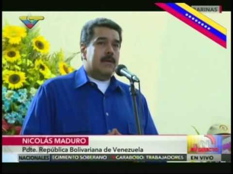 Presidente Nicolás Maduro en sepelio de Aníbal Chávez